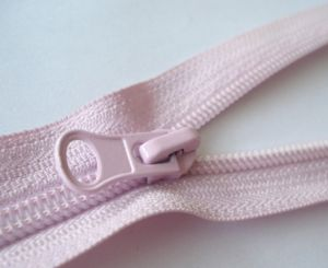 Excellent Fashion Pink Nylon Zipper Rolls pictures & photos