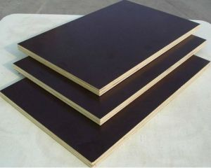 Waterproof Shutting Plywood/Black Film Faced Plywood for Construction pictures & photos