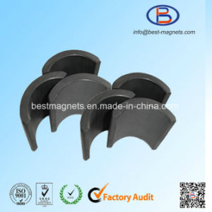 High Quality Ferrite Magnets Arc for Motor pictures & photos