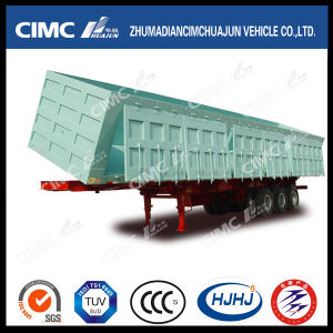 New Type Cimc Huajun 3-Door Side-Dumping Semi Trailer pictures & photos