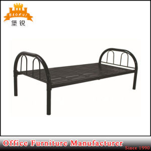 Anshun Easy Assembly Latest Designs Army Military Steel Frame Single Bed pictures & photos
