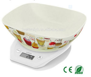 Digital with Bowl Kitchen Scale 5kg 11lb pictures & photos