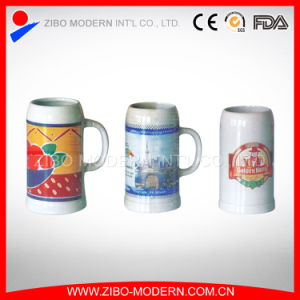 Wholesale Ceramic Beer Mug with Imprint pictures & photos