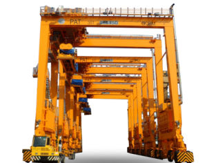 Rubber Tyre Container Gantry Crane (RTG) pictures & photos