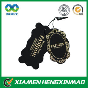Custom Shape Two PCS Hang Tag with String