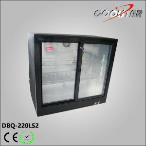 220L Commercial Sliding Glass Door Bottle Cooler (DBQ-220LS2) pictures & photos
