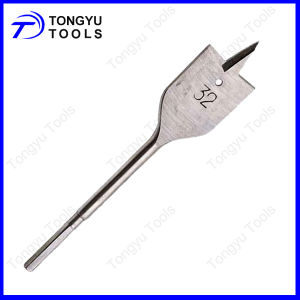 Hexagon Shank Wood Flat Bits, Wood Spade Drill Bits