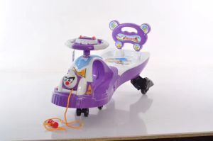 Lowest Price Kids Toys Ride on Car/Baby Swing Car 2-7years Old 608 pictures & photos