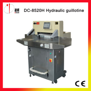 Docon DC-8520h Hydraulic Guillotine, Paper Cutter pictures & photos