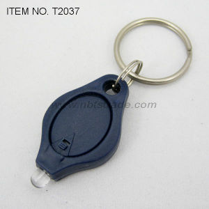 Plastic Key Chain Flashlight (T2037) pictures & photos