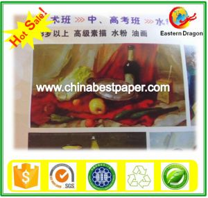 White Stock C2s Coated Paper/C1S coated paper pictures & photos
