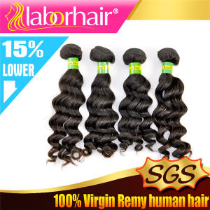100% 7A Brazilian Deep Wave Virgin Human Hair Extensions Lbh 024 pictures & photos