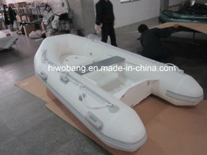 2014 Attractive White 270cm Fiberglass Hull Inflatable Boat Sea Walker Boat with CE China pictures & photos