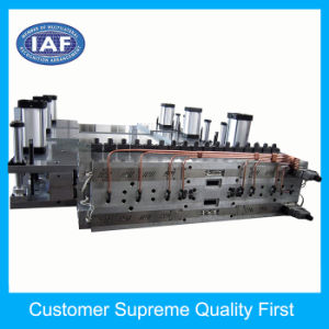 Custom PP Adjustable Hollow Grid Plate Extrusion Plastic Mold pictures & photos