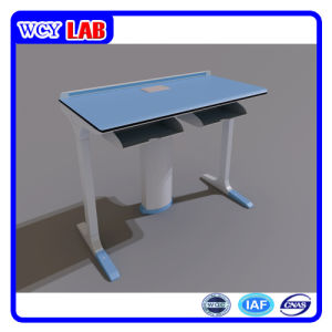 Both Physical Tables Students Tables with Removable Bucket Wcy-S07D