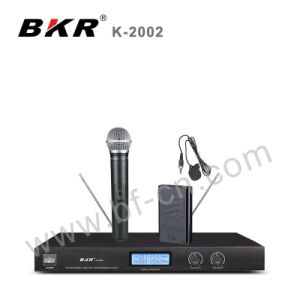 LCD Screen VHF Meeting Microphone System pictures & photos