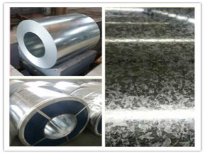 Steel Products Dx51d Building Material Galvanized Steel Coil for Construction pictures & photos