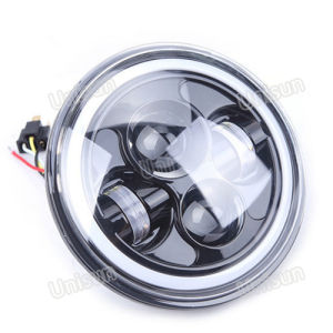 12V 40W High Low Beam 7inch LED Jeep Headlight pictures & photos