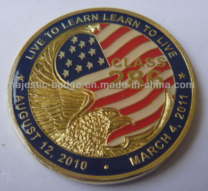 3D Zinc Die Cast Soft Enamel Coin pictures & photos