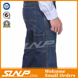 Men′s Long Washed Denim Original Fit Workwear Jeans pictures & photos