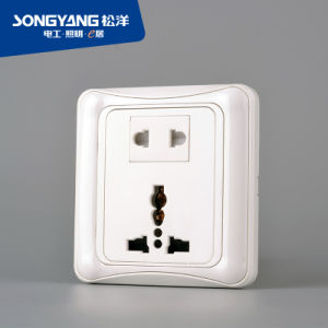 Flame Retardant PC Plastic Ordinary Socket