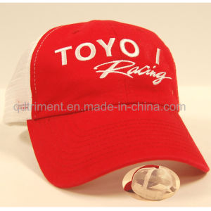 Custom Embroidery Cotton Twill Mesh Sport Trucker Cap (DST30-TO) pictures & photos