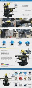 Xq6226b Universal Manual Milling Machine pictures & photos