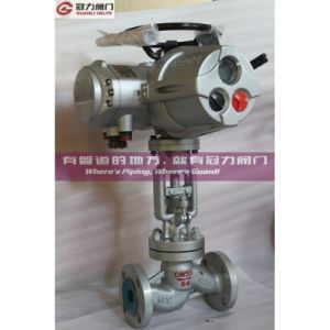 Pn25 Dn800 Wcb Globe Valve pictures & photos
