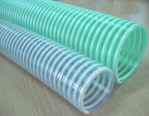 Food Grade PVC Water Suction Hose / PVC Corrugated Suction Hose pictures & photos