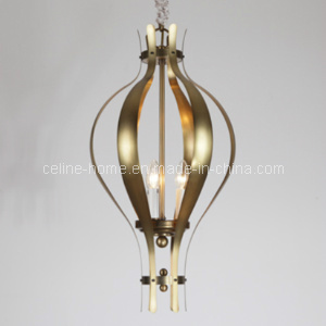 3 Lights Hotel Iron Pendant Lamp (SL2159-3) pictures & photos