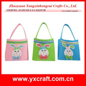Easter Decoration (ZY15Y319-1-2-3) Easter Bunny Felt Bag Easter Gift Product pictures & photos