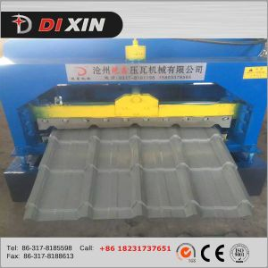 Color Steel Metal Glazed Roof Tile Roll Forming Machine pictures & photos