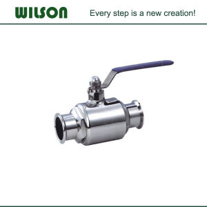 Manual Food Garde Tri Clamp Connection Ball Valve pictures & photos