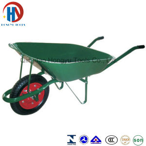 Zinc Plated/Paint Superior Quality Wb3808 Wheel Barrow pictures & photos