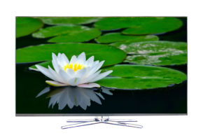 Ultra-Thin 4k Ultra HD LED TV with VGA, Hdmix2, USB pictures & photos