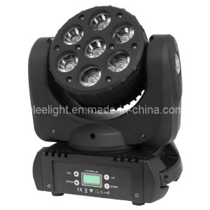 7*12W Osram RGBW/RGBA 4in1 Quad Color LED Mini Legendary Beam Wash Moving Head Light