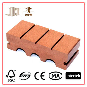 More Natural Composite Arched Wood Decking (140*40mm)