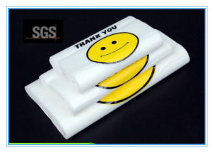 Custom Shopping Bags Printed Plastic T-Shirt Bags pictures & photos