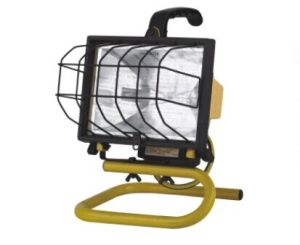 300W/500W UL/CE Listed Halogen Work Light pictures & photos