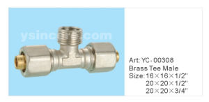 Brass Fittings for Pex-All-Pex Pipe (YC-00308) pictures & photos