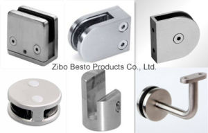 Stainless Steel Glass Panel Mounting/Holding Clips pictures & photos