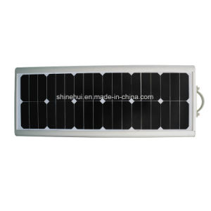 20W LED 40W Sunpower Solar Panel Integrated All in One Solar Street Light with Best Price pictures & photos