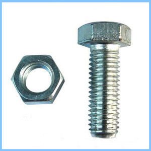DIN 933 Furniture Hex Bolt and Nut From Guangzhou Supplier pictures & photos
