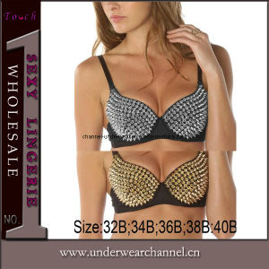 Fashion Sexy Women Club Dancing Fancy Top Bra pictures & photos