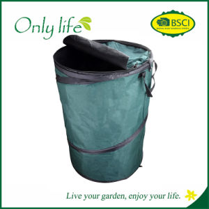 Onlylife Green Pop up Foldable Garden Bag Collapsible Water Resistant Storage Container pictures & photos