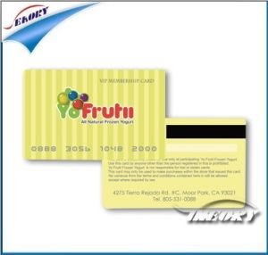 PVC Blank RFID Card with Chip Inside pictures & photos