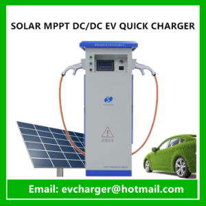 Solar Powered EV Charging Station Used EV Fast Charger with Chademo and SAE Combo Connector pictures & photos