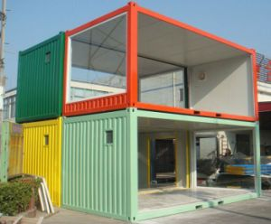 Prefab Container House with Bedroom Kitchen Toilet for Living Cabin pictures & photos