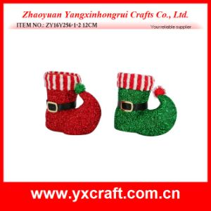 Christmas Decoration (ZY16Y256-1-2 12CM) Christmas Boot Statues pictures & photos