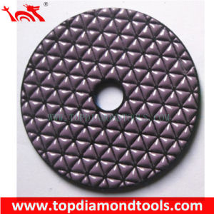 Dry Flexible Diamond Polishing Pads for Polishing Stone pictures & photos